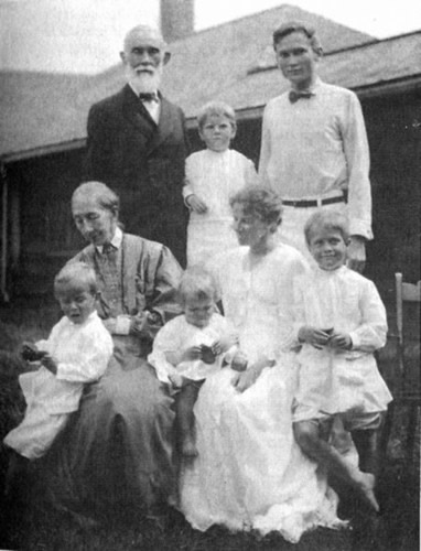 Hiram Binghams Familie
