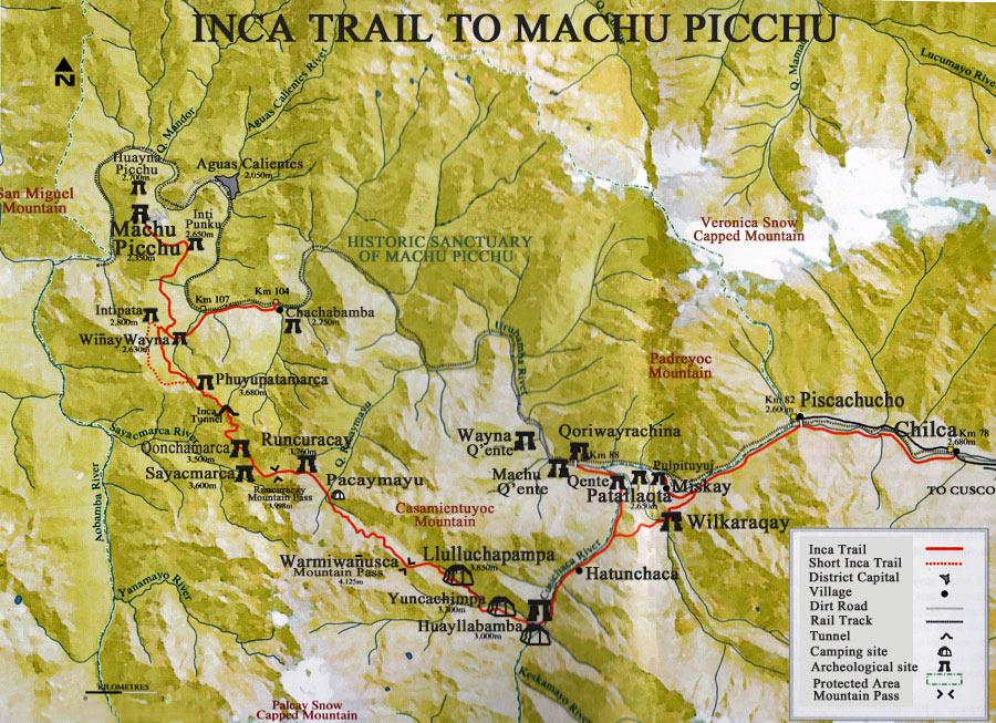 Inka_Trail_Karte