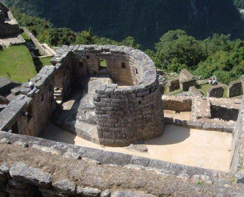 Der Sonnentempel in Machu Picchu