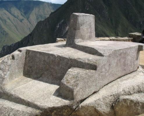 Der Intihuatana Stein