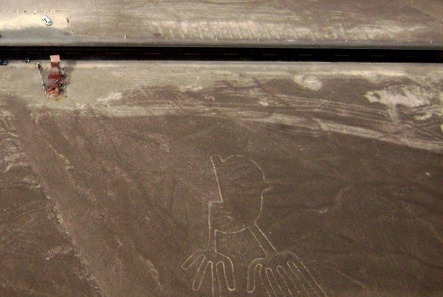 Nazca Linien Hände