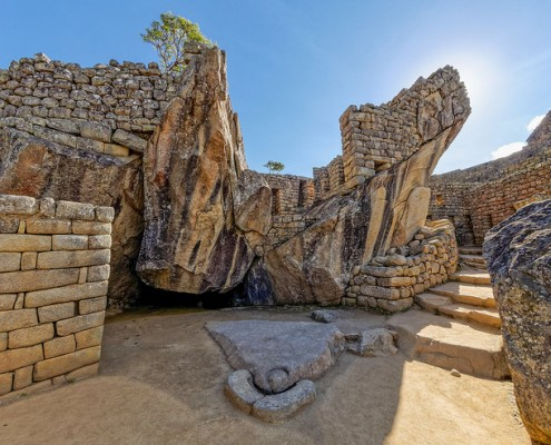Der Tempel des Kondor im Süd-Osten