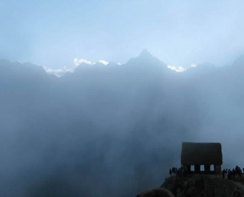 Wachhäuschen auf dem Machu Picchu
