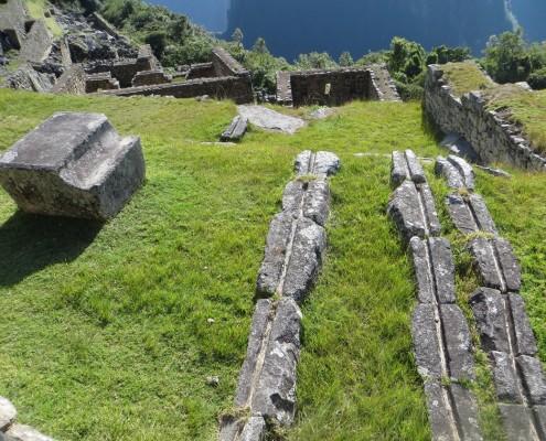 Das perfekte Wasser-Zufluss-System nach Machu Picchu
