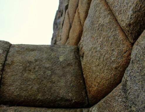 Machu Picchu fugenlose Mauern