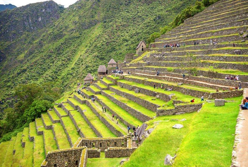 Machu Picchu Terrassen
