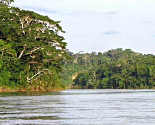 Manu Park geschützte Zonen