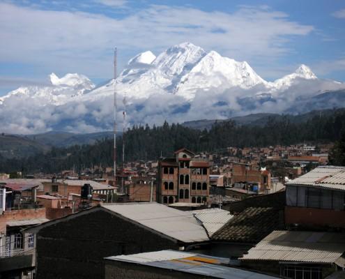 Bester Startpunkt für Ihre Expedition in den Huascarán Nationalpark ist die Stadt Huaraz