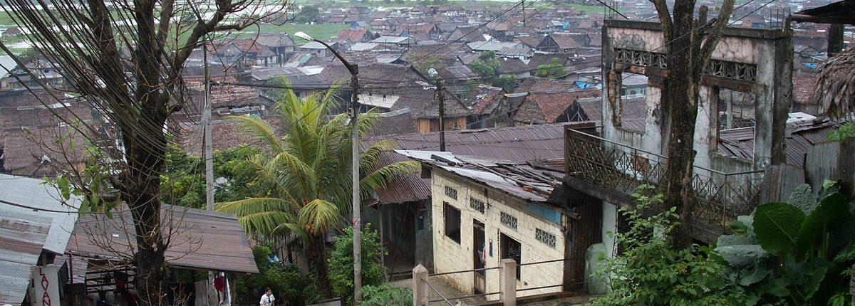 Blick auf Belen Iquitos