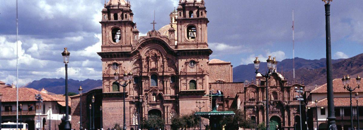 Cusco-Jesuitenkirche Plaza de Armas