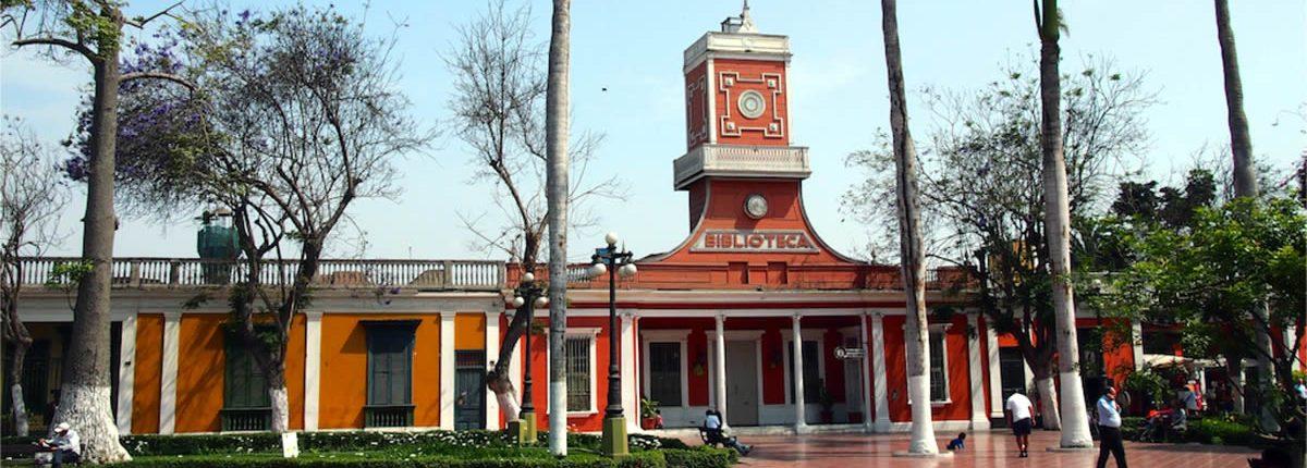 Lima Peru - Library of Barranco