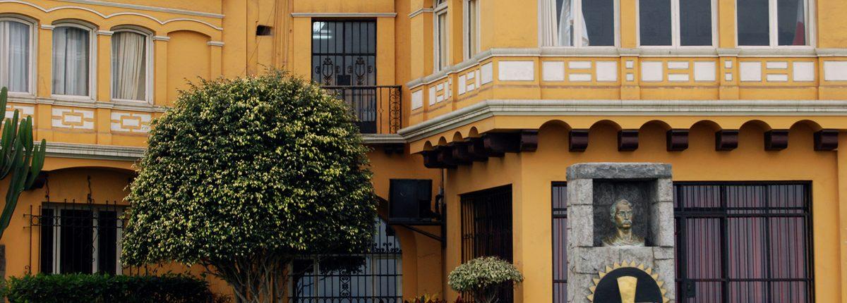 Historische Bauten- Lima Peru Miraflores