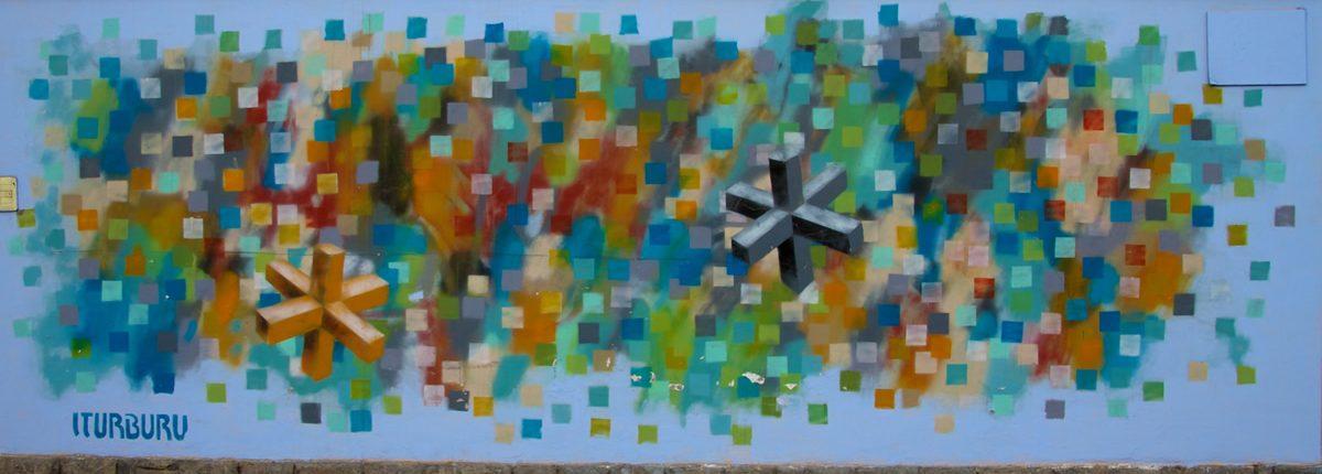 Peru - Lima Barranco Straßen Kunst