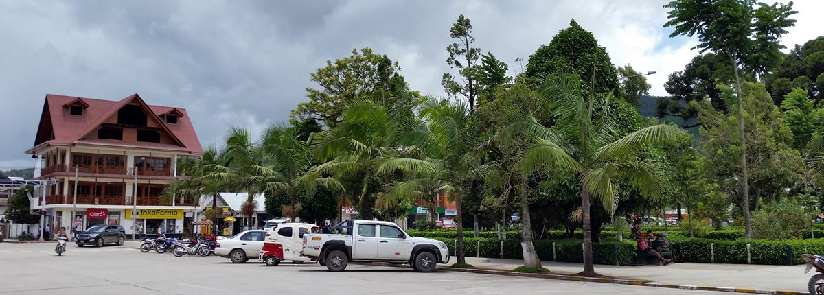 Plaza de Armas de Oxapampa