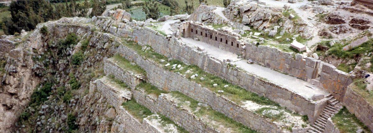 Inca Ort Ollantaytambo Peru