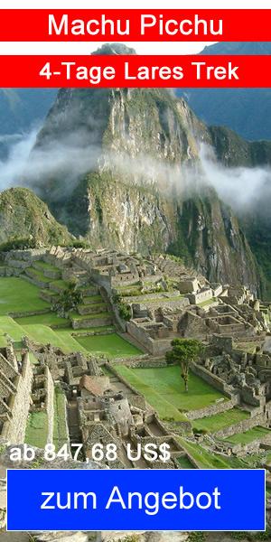 4-Tage Lares Trek nach Machu Picchu