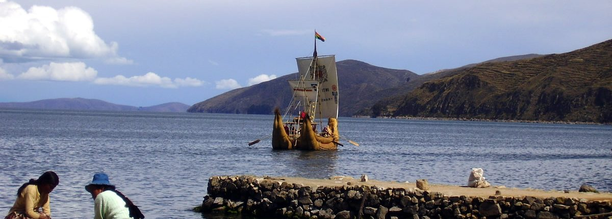 Balsa Totora Titicaca