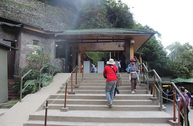 Eingang Machu Picchu