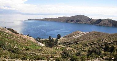 Insel auf dem Titicaca