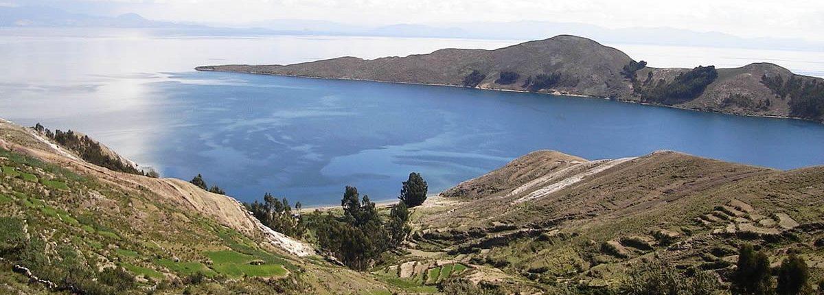 Insel auf dem Titicacasee