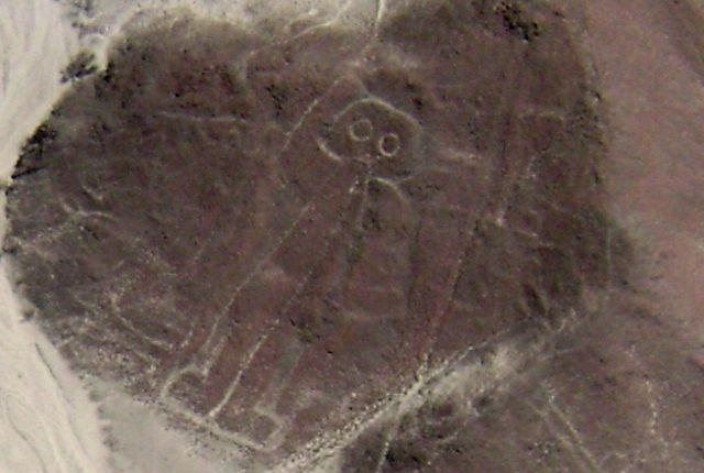 Nazca Linien Astronaut