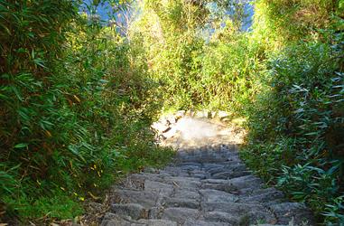 Pfad zur Inka-Hochburg