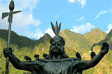 Yupanqui-Statue