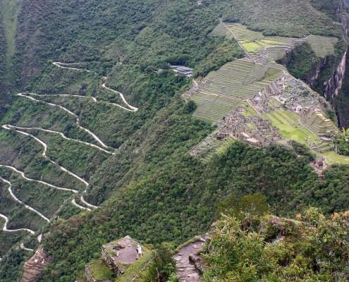 Baukunst in Machu Picchu