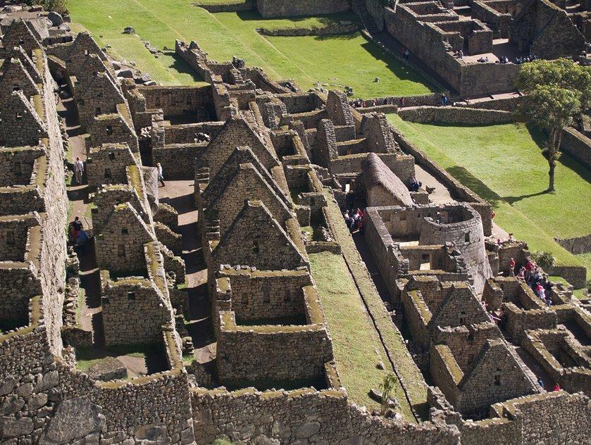 Machu Picchu Siedlung