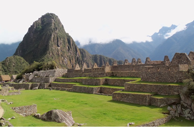 Hauptplatz Machu Picchu