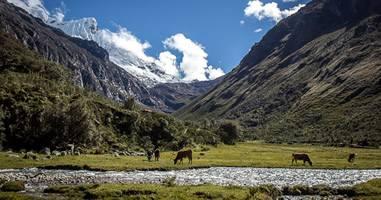 Huascarán faszinierende Landschaften und geologische Phänomene