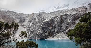 Lagunen und Gletscher im Huascaran