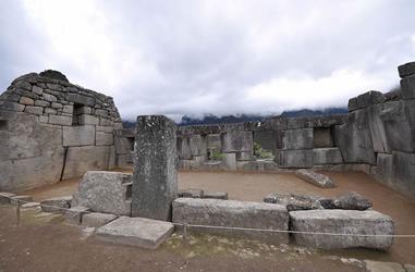 Mythische Fenster von Pacaritambo