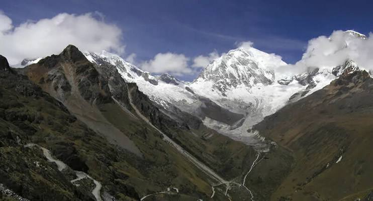 Nevado Huascarán – höchster Berg in Peru