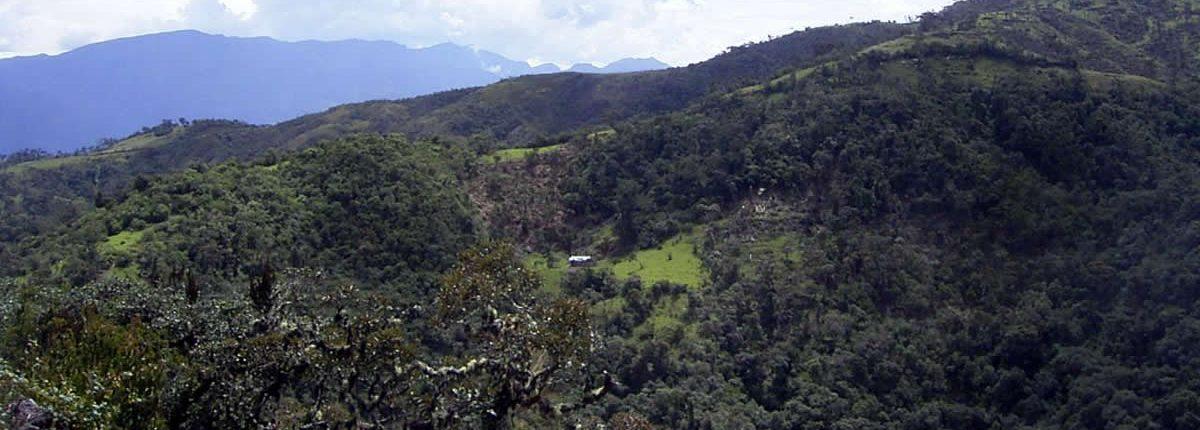Paisaje Soloco Chachapoyas
