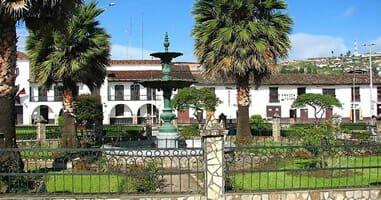 Plaza de armas Chachapoyas