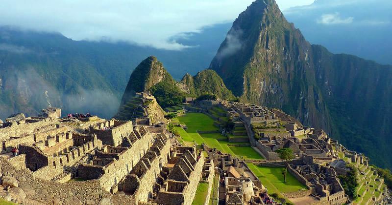 Rundgang durch Machu Picchu
