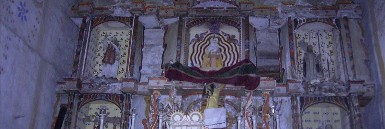 Retablo iglesia chiliquin chachapoyas