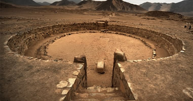 Amphitheater Caral