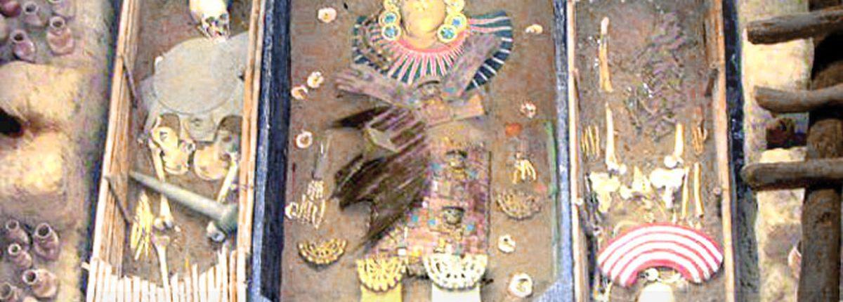 El Señor de Sipán im Royal Tombs Museum Lambayeque