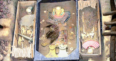 El Señor de Sipán im Royal-Tombs Museum Lambayeque