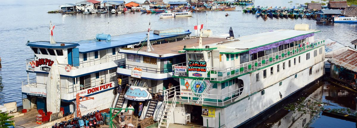 Hafen Iquitos Peru