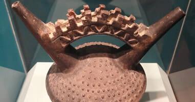 Historischer Kessel Lambayeque Peru