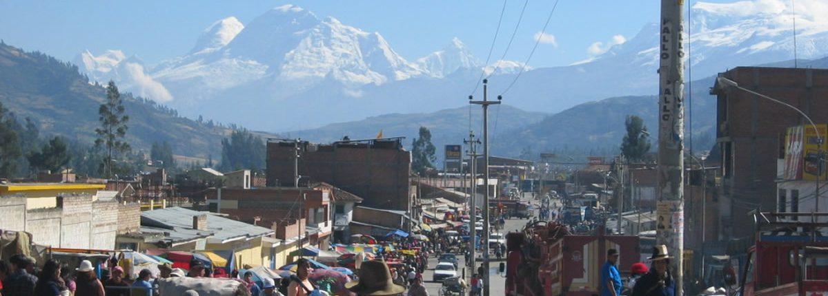 Huaraz Aussicht