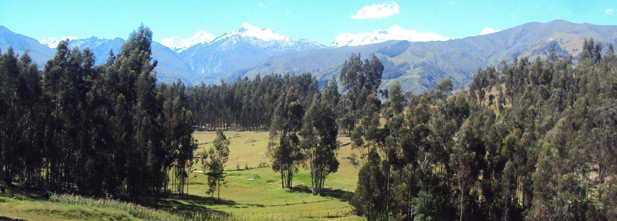 Huaraz Landschaft