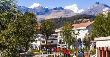 Huaraz die unbesiegbare Stadt