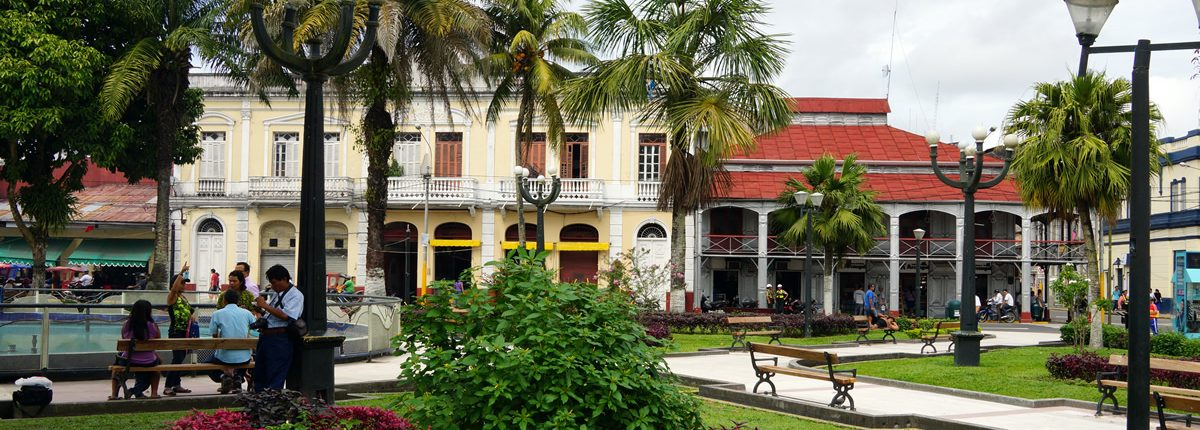 Iquitos Plaza de Armas