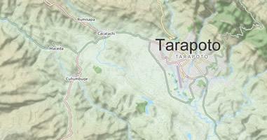 Karte Anreise Tarapoto