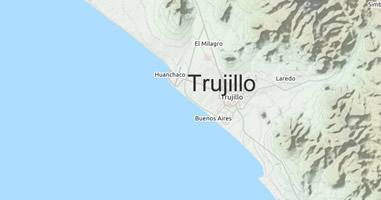 Karte Anreise Trujillo