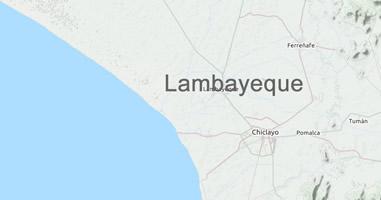 Karte Lambayeque Peru